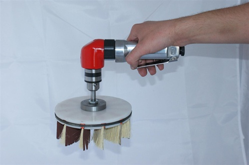 F2 Quickwood Air Tool For Cup Brush Sanding Heads Air Tool